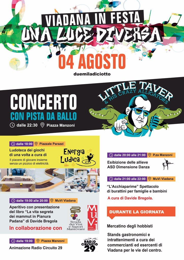 04/08/2018 - Viadana in Festa
